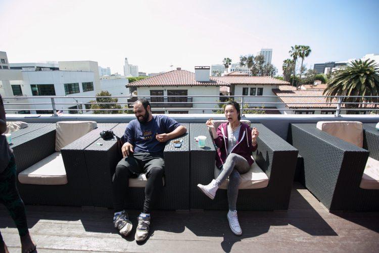 Santa Monica rooftop
