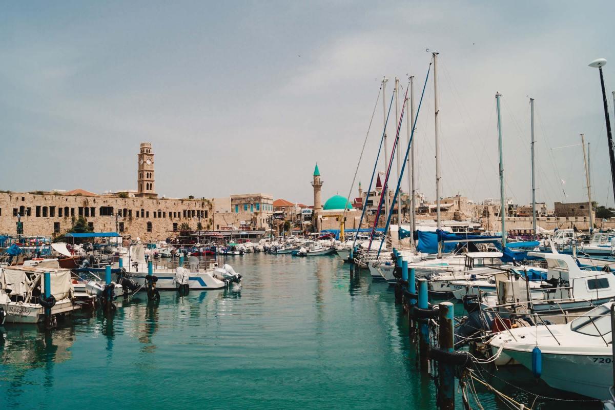 Vissersstad Akko Israel bezoeken