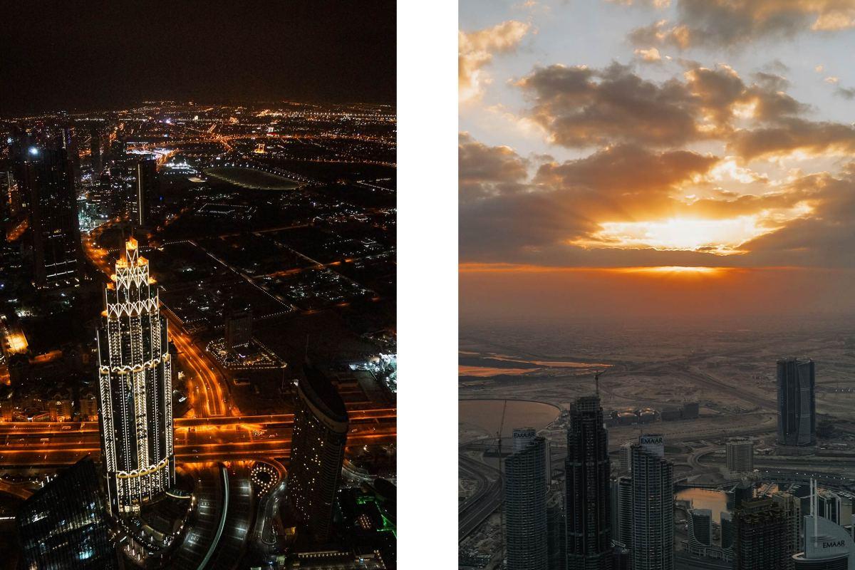 Burj Khalifa zonsopkomst bekijken
