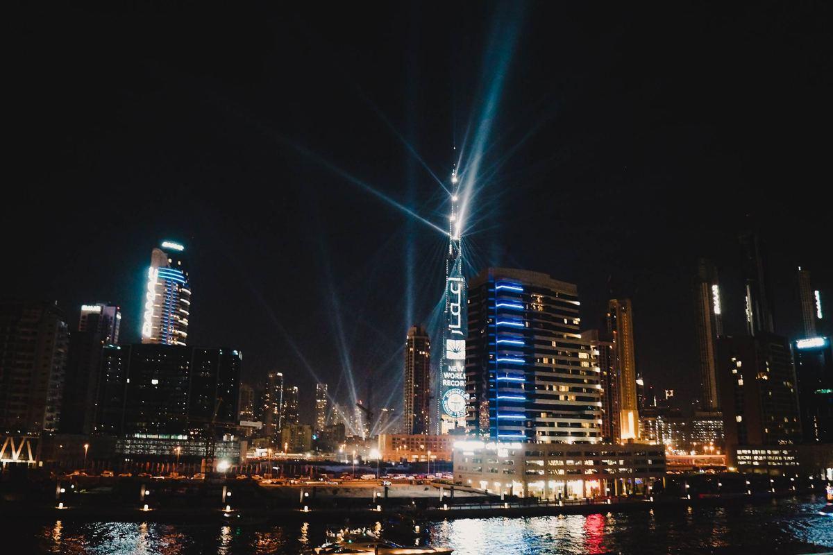 Oud en nieuw vieren in Dubai ervaring