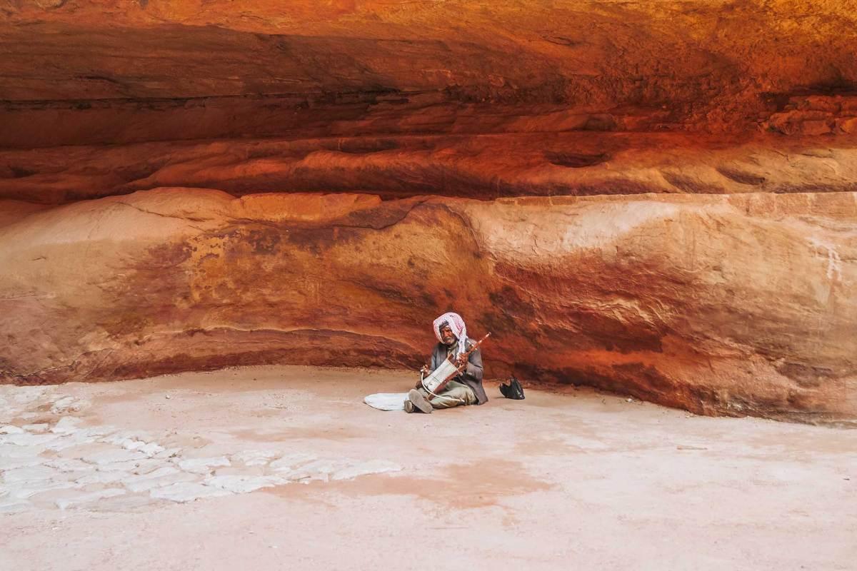 Bezoek wereldwonder Petra