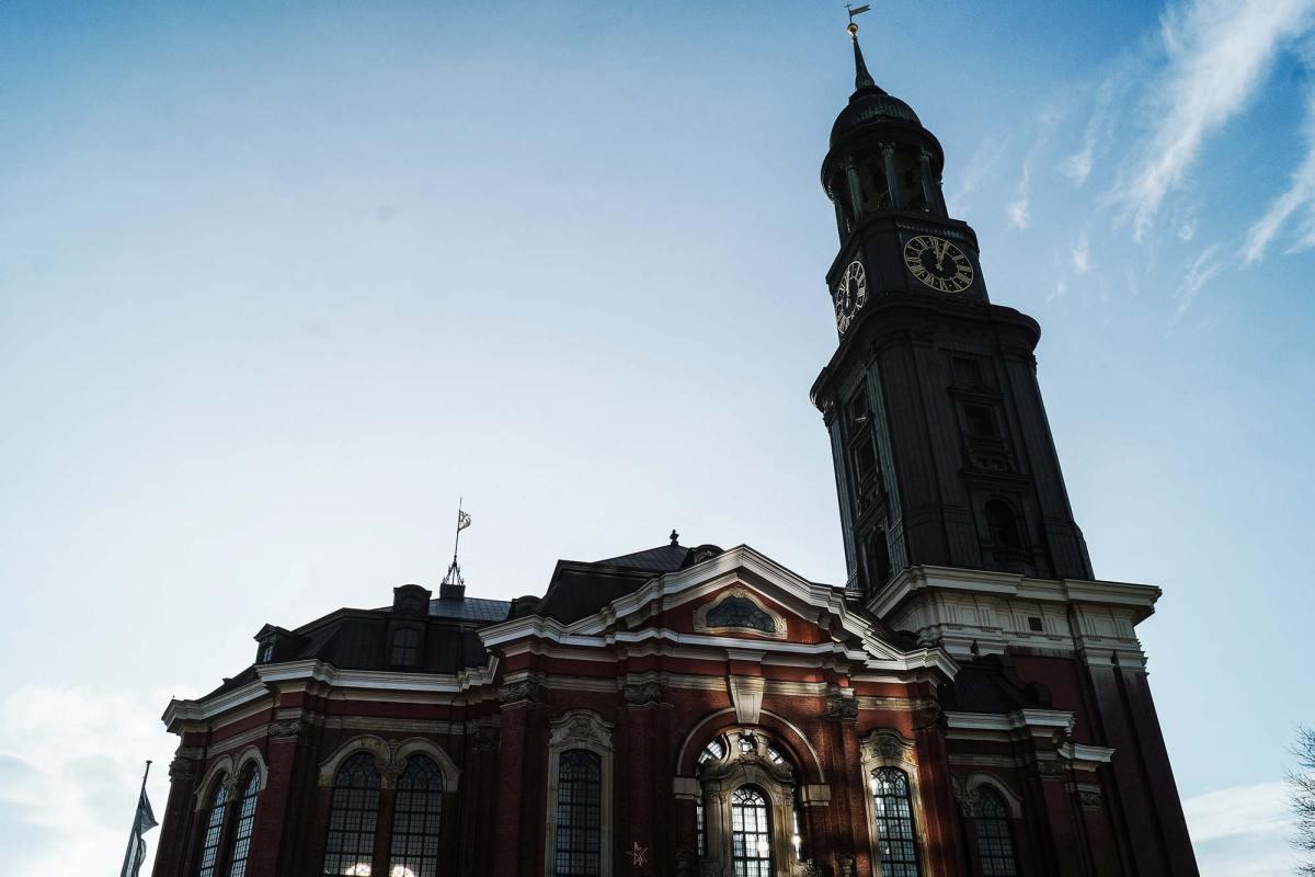 Bezienswaardigheid Sint Michielskerk in Hamburg