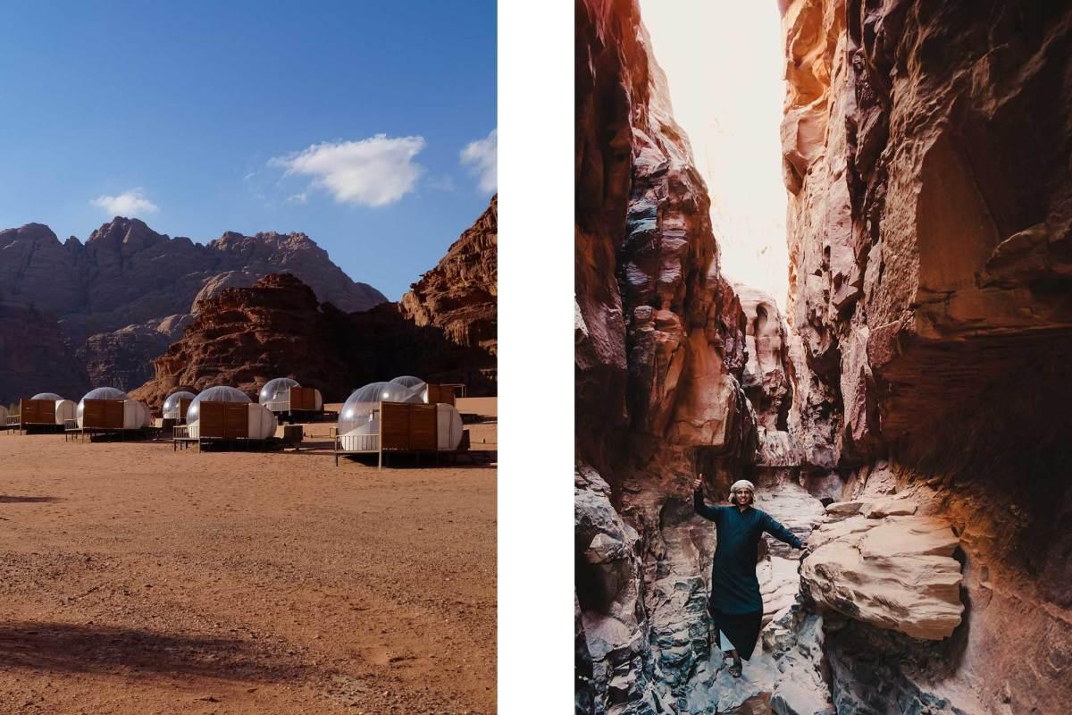 Overnachten in Wadi Rum Jordanië