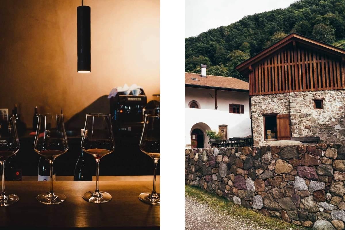 Zuid-Tiroolse wijnroute in de Dolomieten