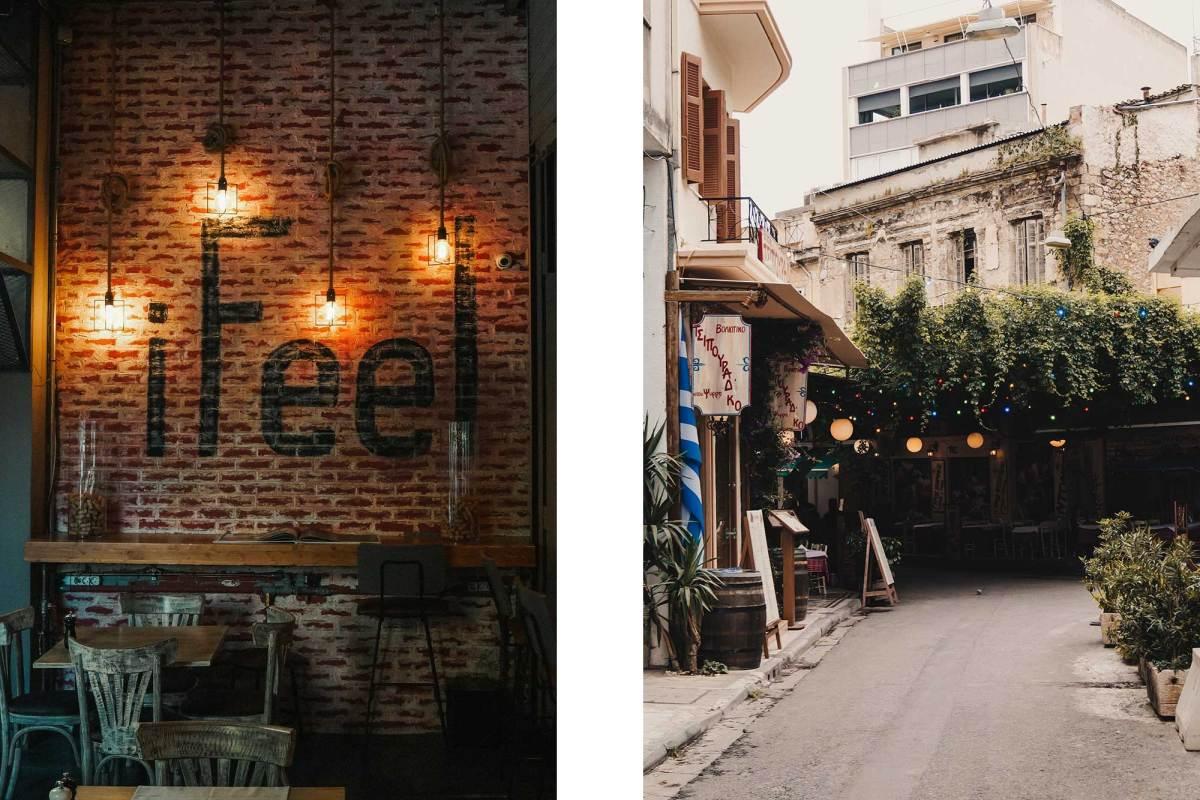 Athene restaurants wijk Psirri