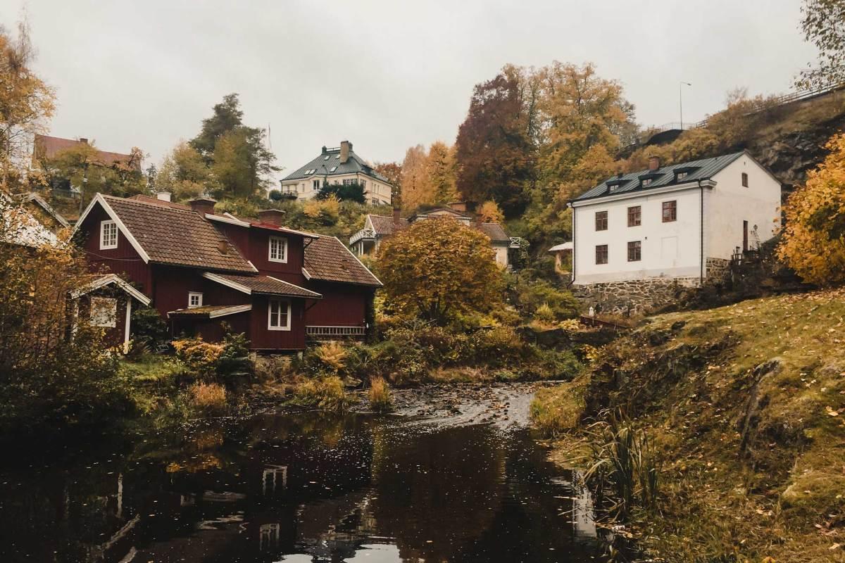 Dunkehallaleden wandelen Jönköping
