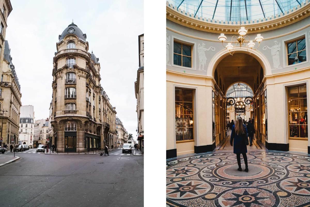 Parijse winkelpassage Galerie Vivienne