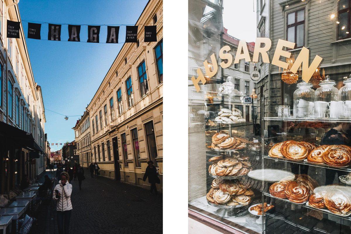 Leuke cafés in het oude Haga district Göteborg