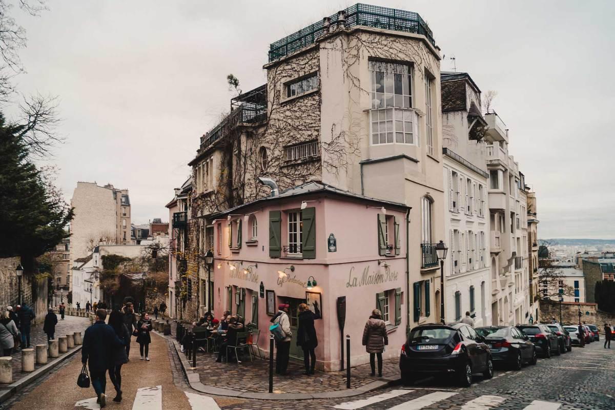 La Maison Rose Montmartre Parijs