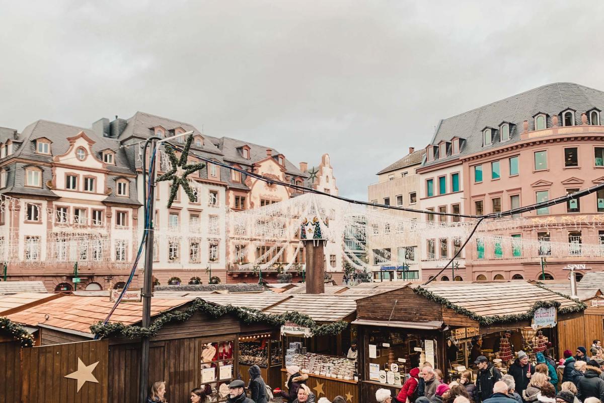 De sfeervolle kerstmarkt in Mainz