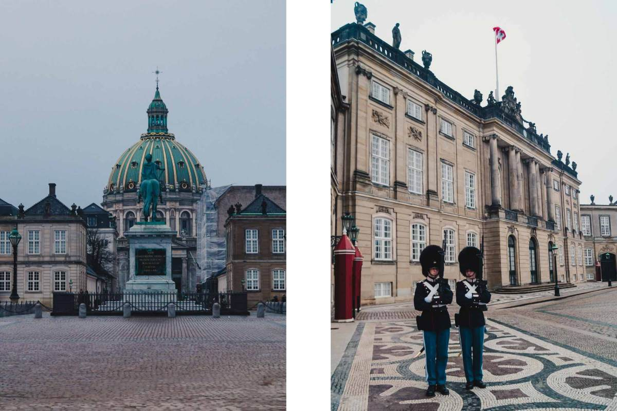 Paleis Amalienborg Kopenhagen