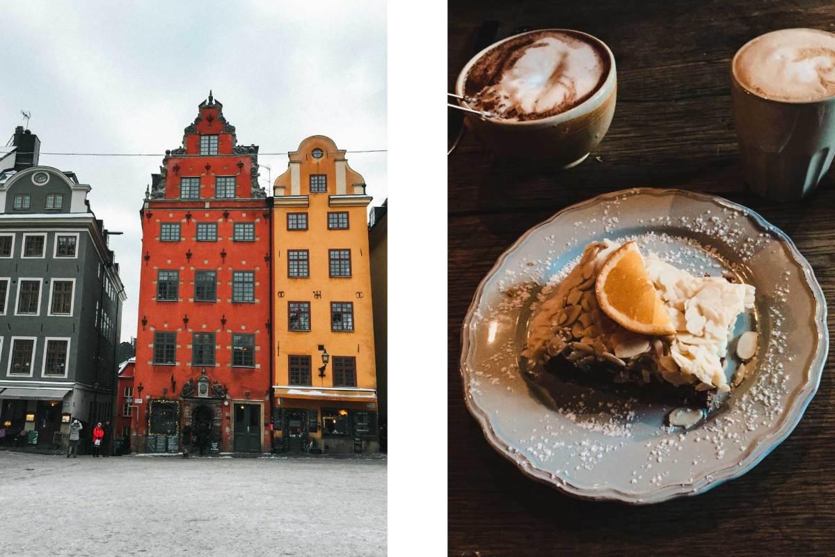 Café Kaffekoppen en Café Chokladkoppen in Stockholm