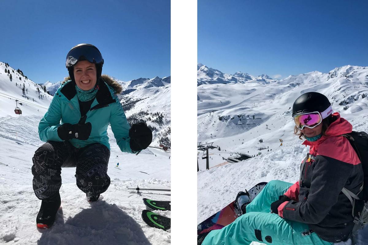 Wintersportplezier in een sneeuwzeker gebied