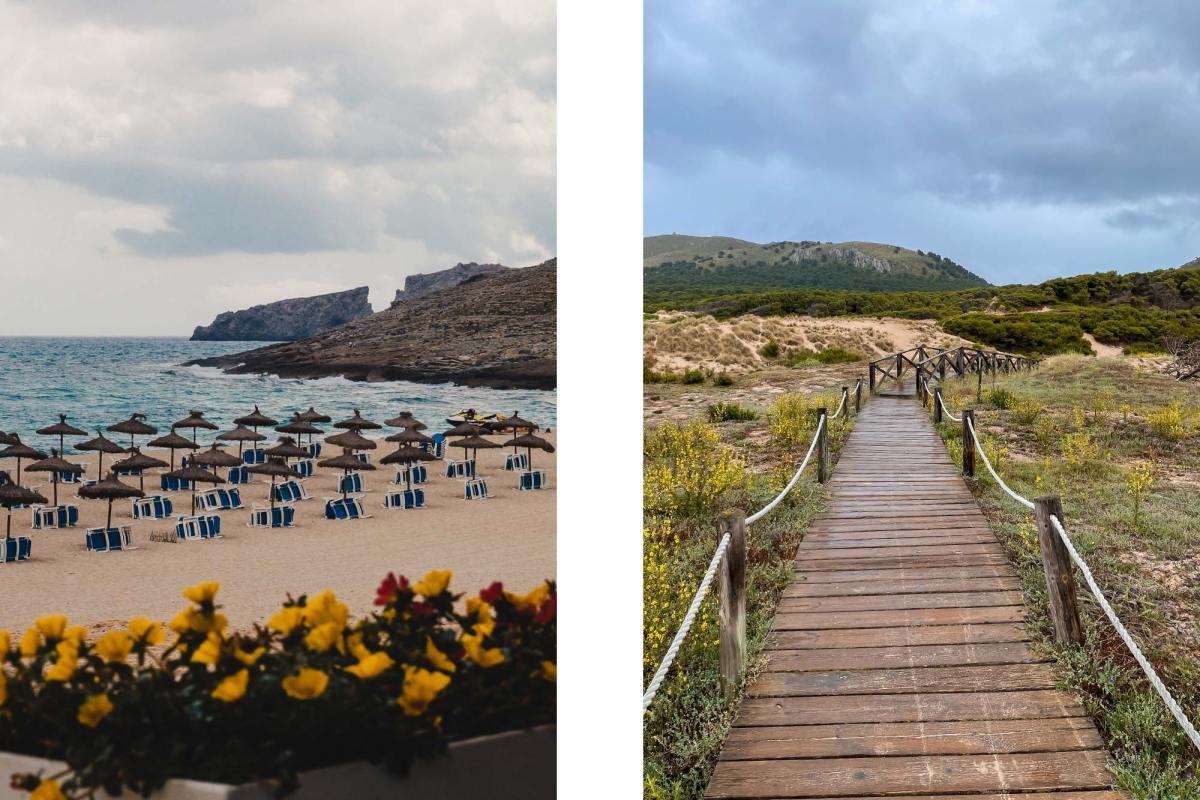 Cala Mesquida in Mallorca