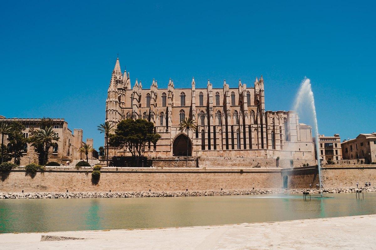 Bezienswaardigheid Palma de Mallorca - Kathedraal Le Seu