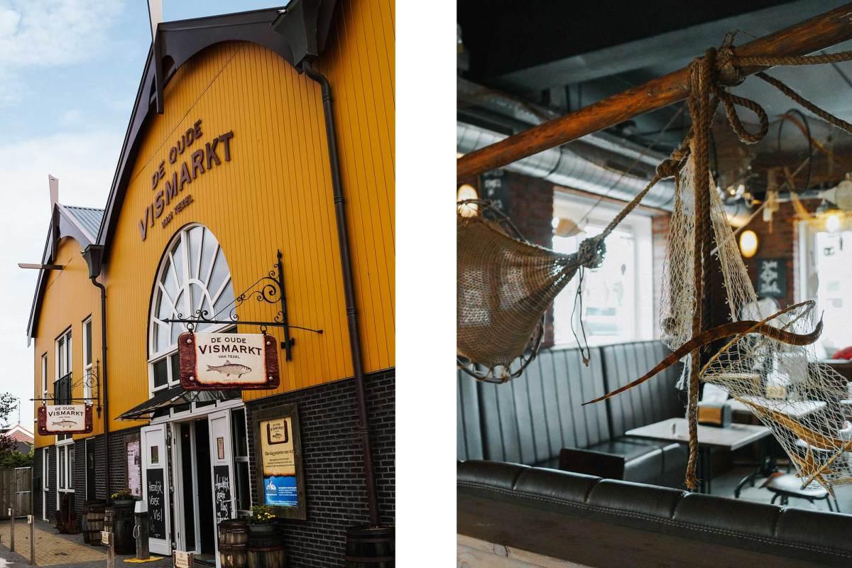 De oude vismarkt in Oudeschild - Texel