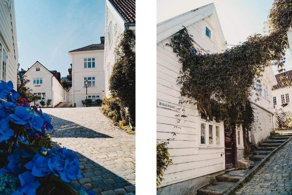Bezoek wijk Gamla Stavanger