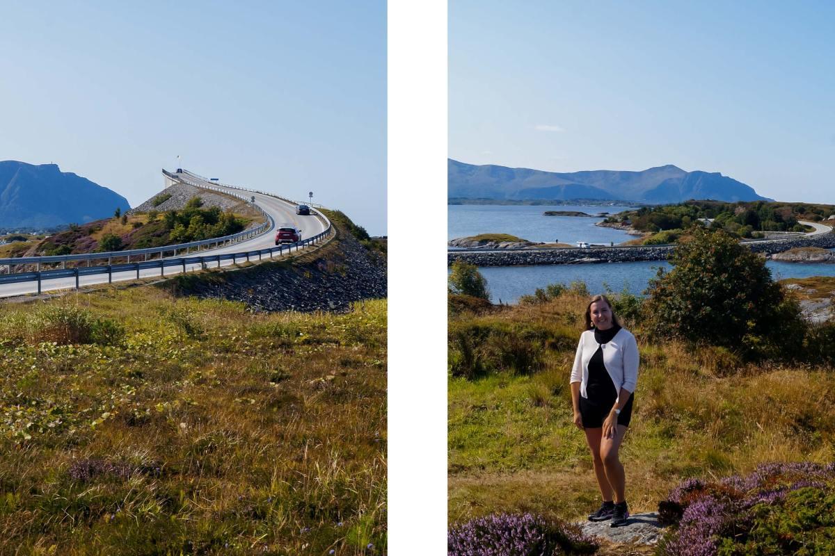 Rij de Atlantic Road in Noorwegen