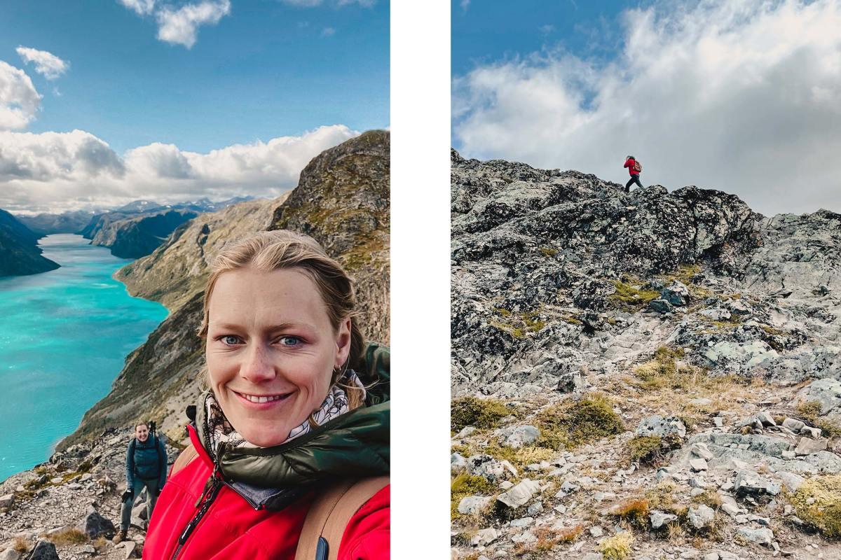 Hike de uitdagende Bessegen Trail
