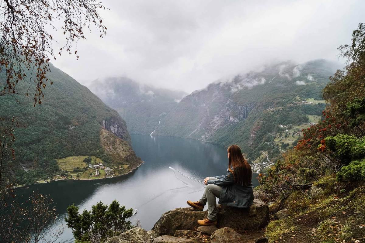 De adembenemende fjorden in Geiranger