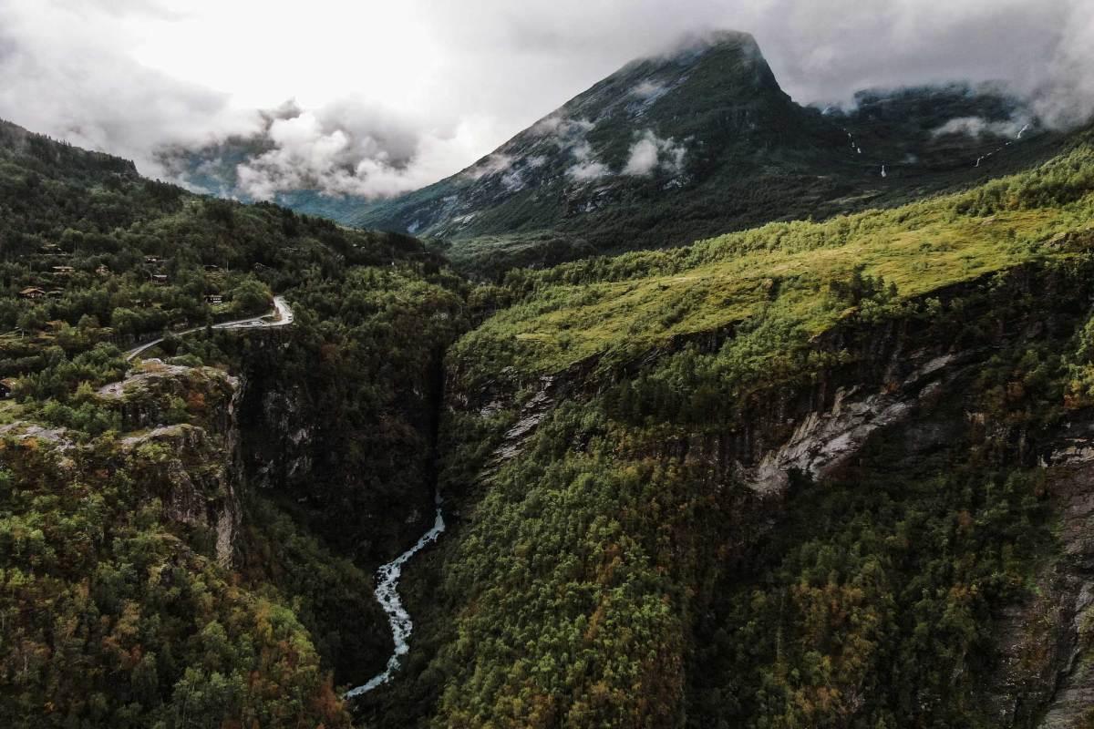 Tips hiken Geiranger Noorwegen