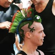 amazing punk hairstyles