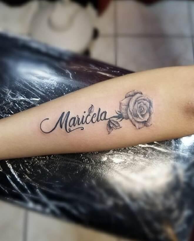Forearm Name Tattoos : forearm, tattoos, Forearm, Tattoo, Clouds, Design