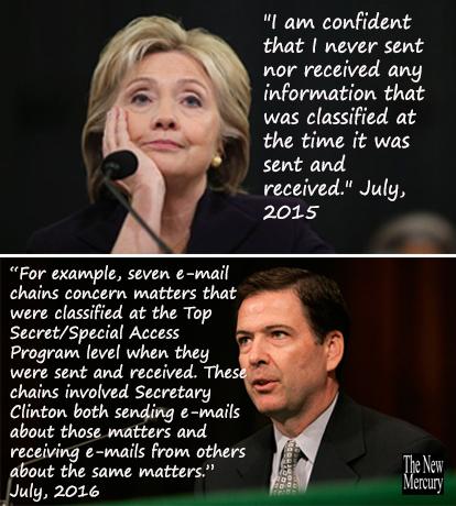 Liar clinton