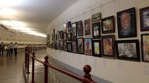 Getting your works curated at student art contests will boost your confidence as an artist