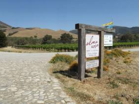 The entrance to the winery featured in Sideways