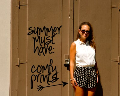 Summer Must Have: Comfy Prints
