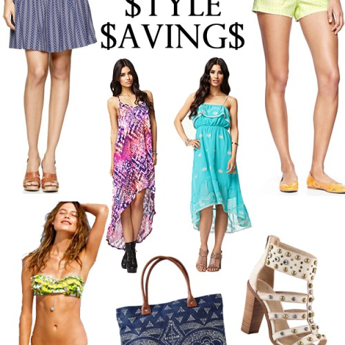 Summer Style Savings