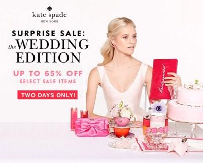 Kate Spade Surprise Sale!