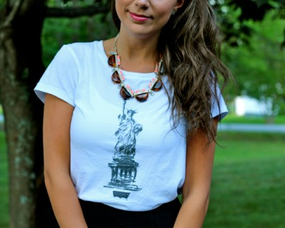 Maxi Skirt & A Graphic Tee