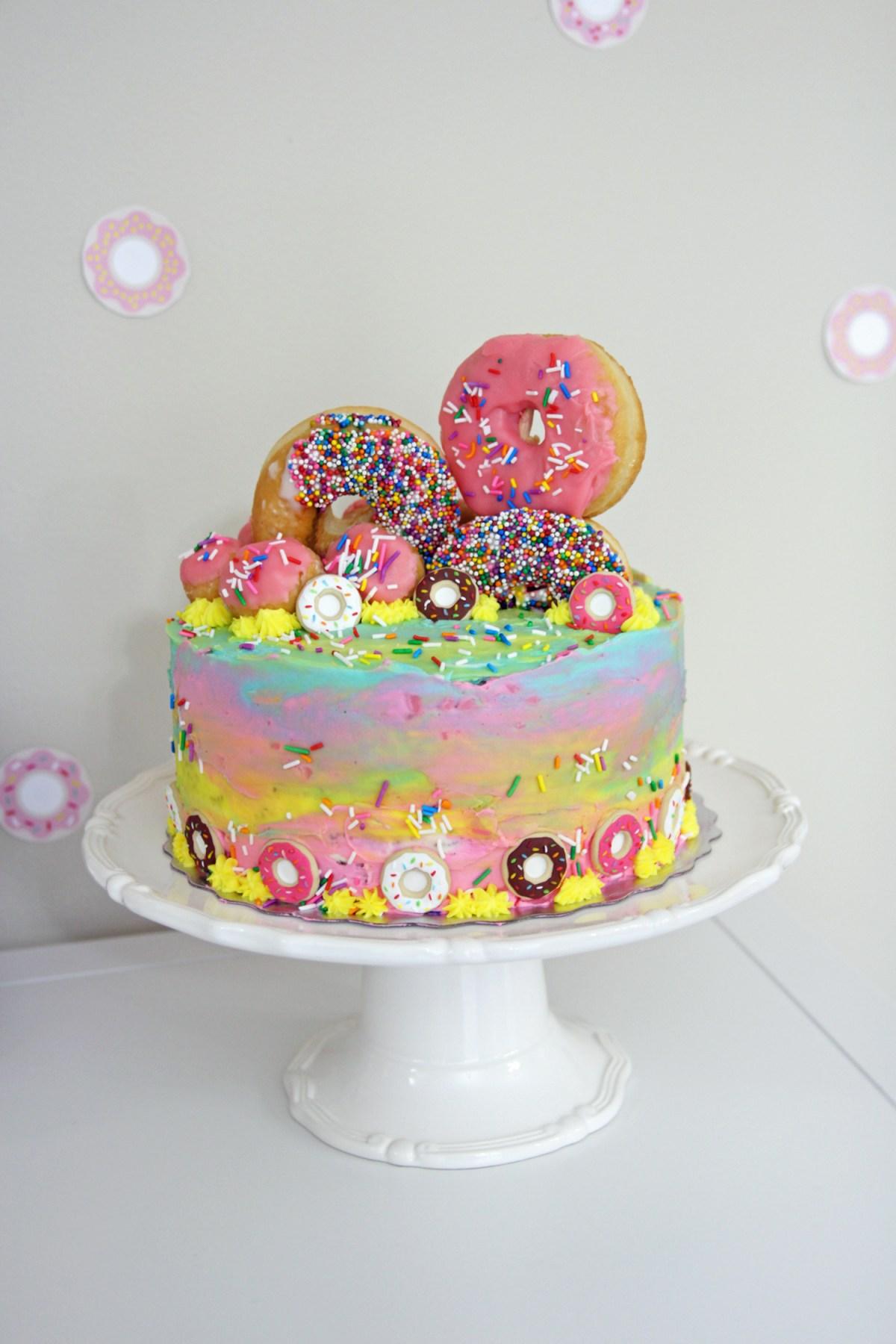 Zuri S Donut Themed Birthday
