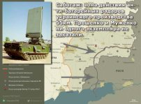 """Battle field artillery radars of designed in Ukraine have a range of up to 55km and cover 90% of the territory of the occupied by Russia enclave. The occupied by Russia enclave can be paralyzed after a week of systematic use of Ukrainian artillery. But there is a SABOTAGE of Ukrainian army by its own generals, officers and bureaucracy. Indeed, Ukraine is controlled by a Regime of Internal Occupation. All the bureaucratic machine is subdued and participates in a massive sabotage. Notably, the saboteurs are: the president of Ukraine Poroshenko, who is a confused idiot and a puppet of the """"External Rule"""", a war criminal for crimes against own army and population; the Chief of Staff general Muzhenko; the majority of """"yes-men"""" officers who execute criminal orders NOT to use the artillery and other effective means to destroy the enemy."""
