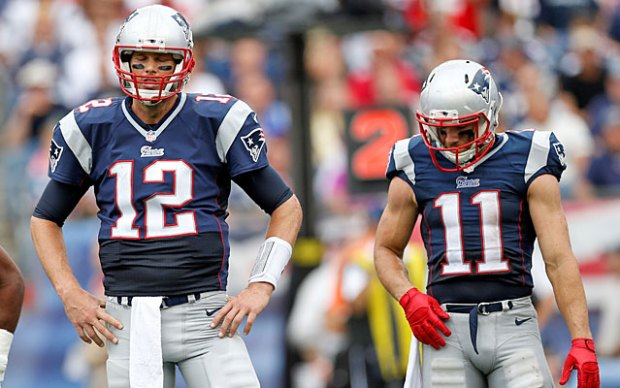 Brady next to Edelman