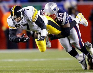 Patriots tackle Steeler