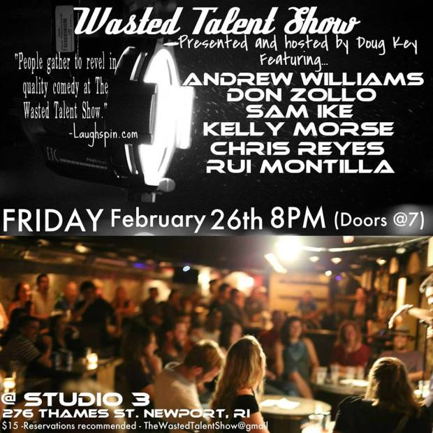 Newport Comedy Wasted Talent Show February 2016