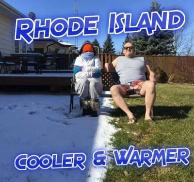 ri cooler and warmer snow