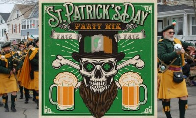dj face st patricks day newport