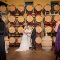 Brittany & Trevor Powers wedding at Newport Vineyards in Newport, RI.