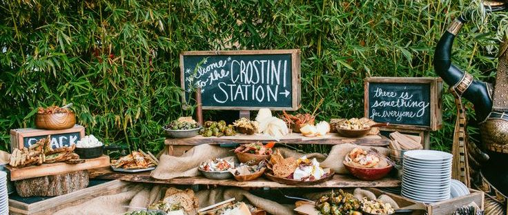 Creative Food Stations For Your Reception The Newport Bride