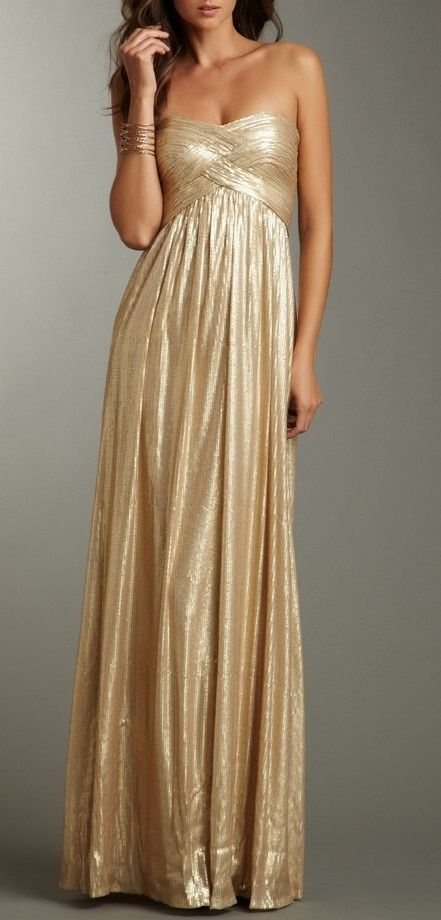 Gold Bridesmaid Dresses | The newport Bride