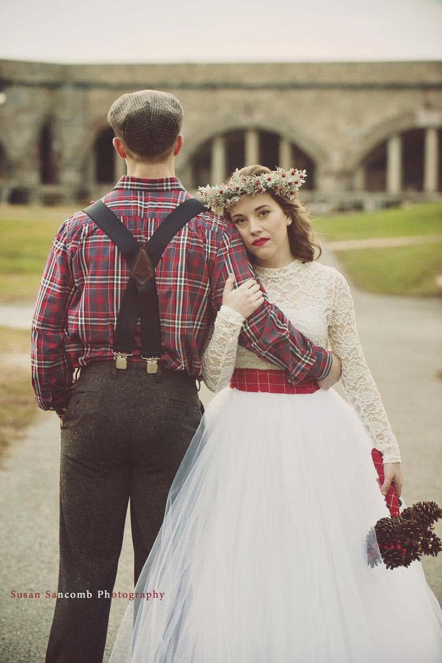 Playful and Plaid Styled Shoot Sneak Peak | The Newport Bride