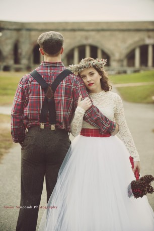 Playful and Plaid Styled Shoot Sneak Peak   The Newport Bride