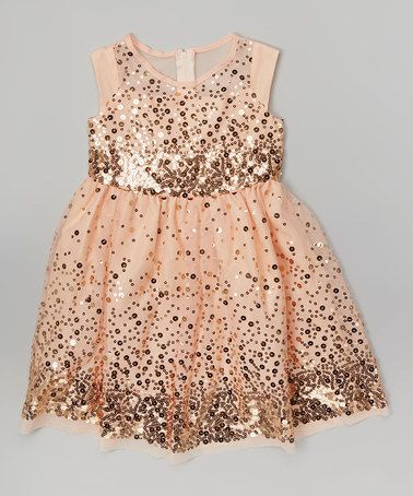 Sequin Flower Girl Dress | The Newport Bride