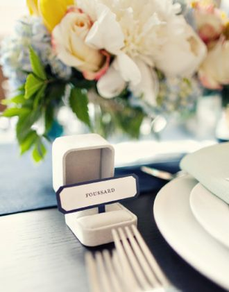 21 Inventive Escort Cards | The Newport Bride