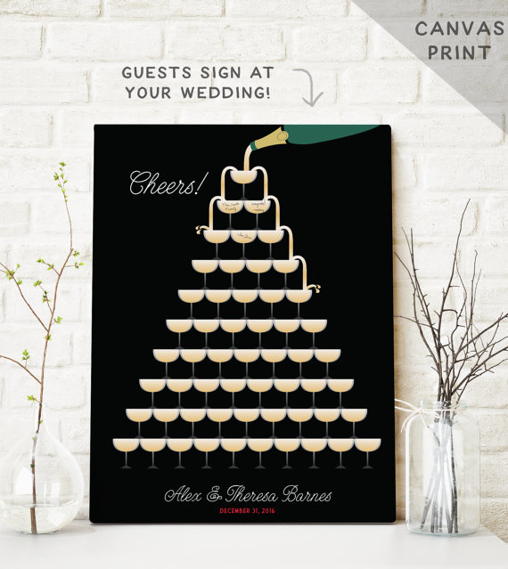Cheers Guest Book Alternative | Friday Favorite from The Newport Bride.jpg