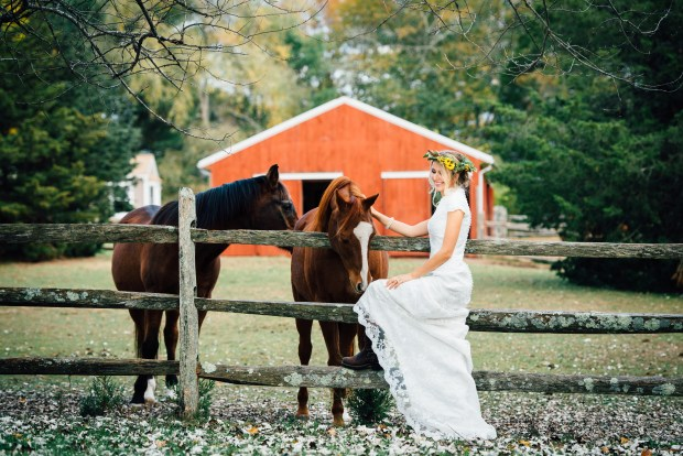 Blush and Dirt Styled Shoot | The Newport Bride